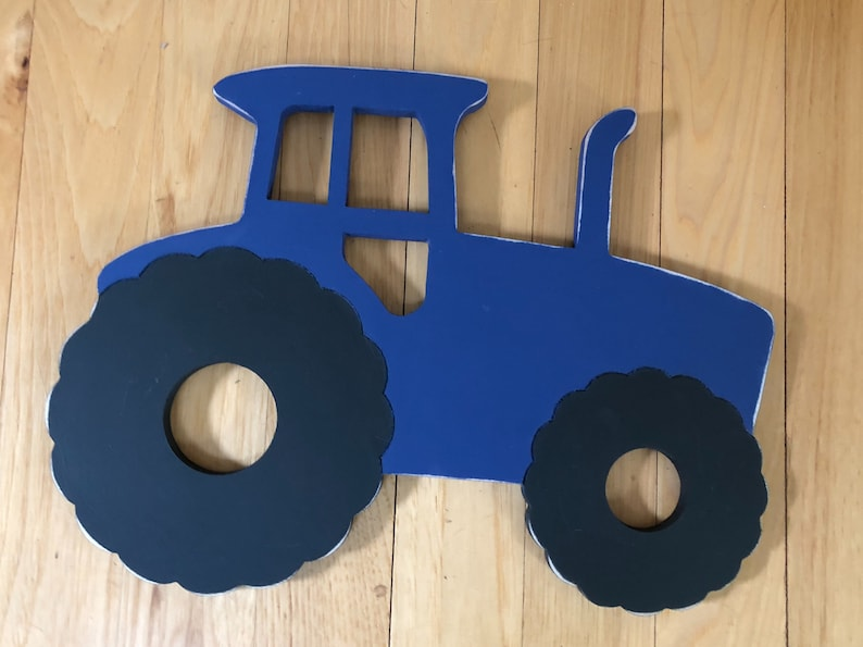 Wood Tractor Sign Transportation Theme Bedroom Farm Them Birthday Party Boy Nursery Decor Farm Baby Shower Decor Farm Birthday Party Simple Tractor Themed Bedroom Minimalist
