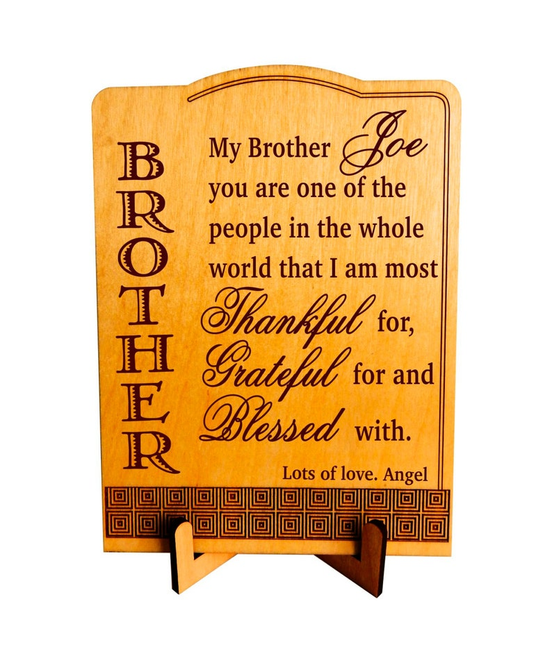 Twin Brothers Gift Brother Birthday Gifts Christmas From