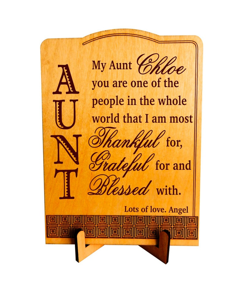 Birthday Gift For Auntie From Niece Christmas Gifts Aunt
