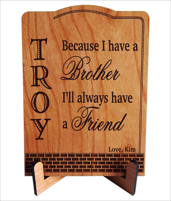 Bruder und Freund Geschenke Weihnachtsgeschenk von Schwester   Etsy