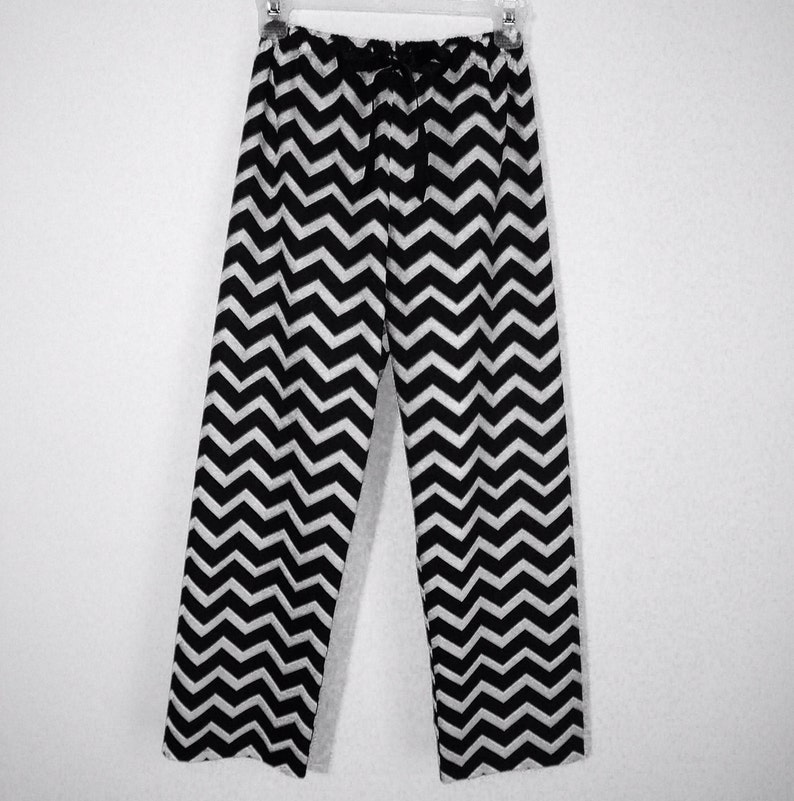 bd97dacfcc9 PJ Pajamas Chevron Boy Girl Adult Women Men Pants Cotton size