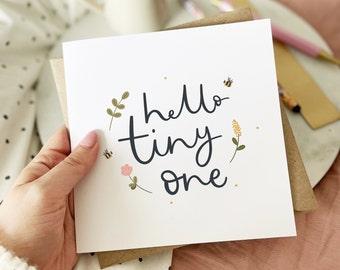 Hello Tiny One | New Baby Card