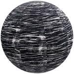 55cm Yoga Ball Cover, balance ball cover, exercise ball cover, fitness ball cover, physio ball cover - Black Contours