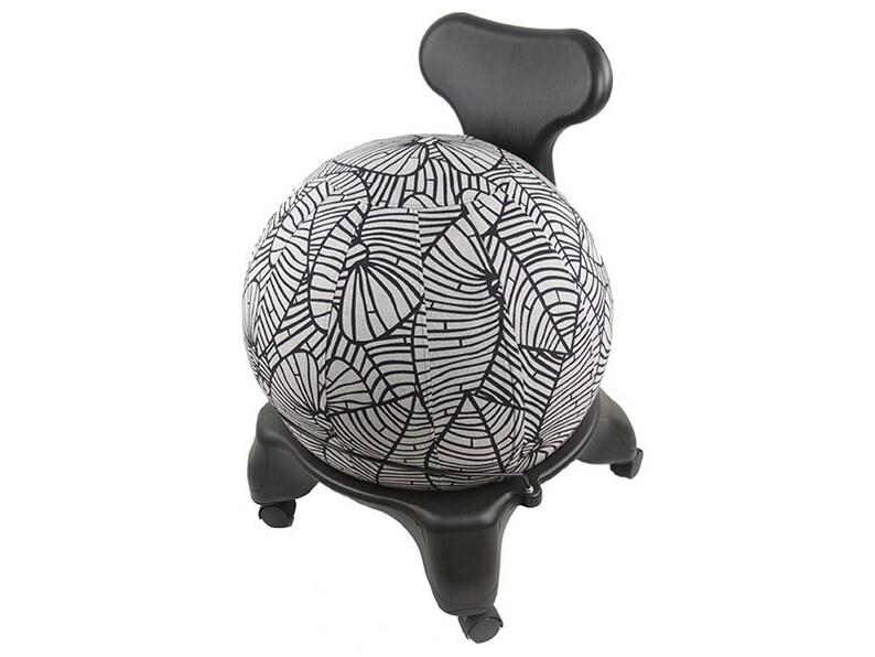 55cm Yoga Ball Cover  balance ball cover exercise ball image 0