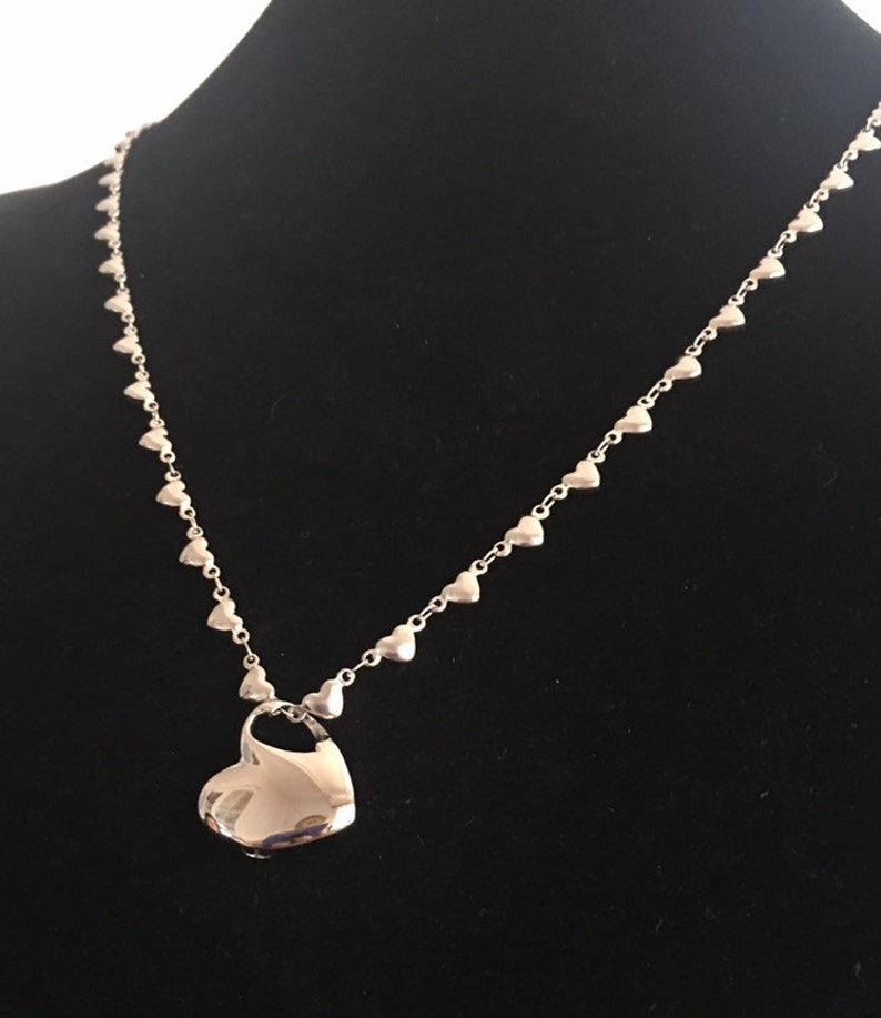Urn Fill Kit Item #3426 Urn Necklace Heart Urn Necklace Keepsake Jewelry Ash Urn Necklace Memorial Jewelry Cremation Necklace