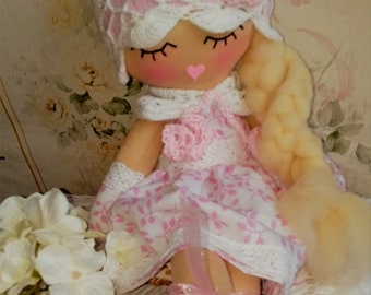 doll - soft doll - handmade doll - toys