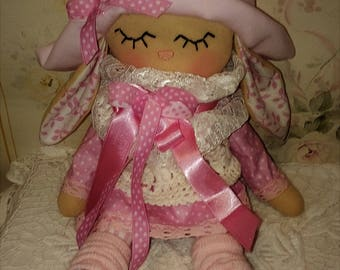 doll - textile doll - toys - animals - Easter