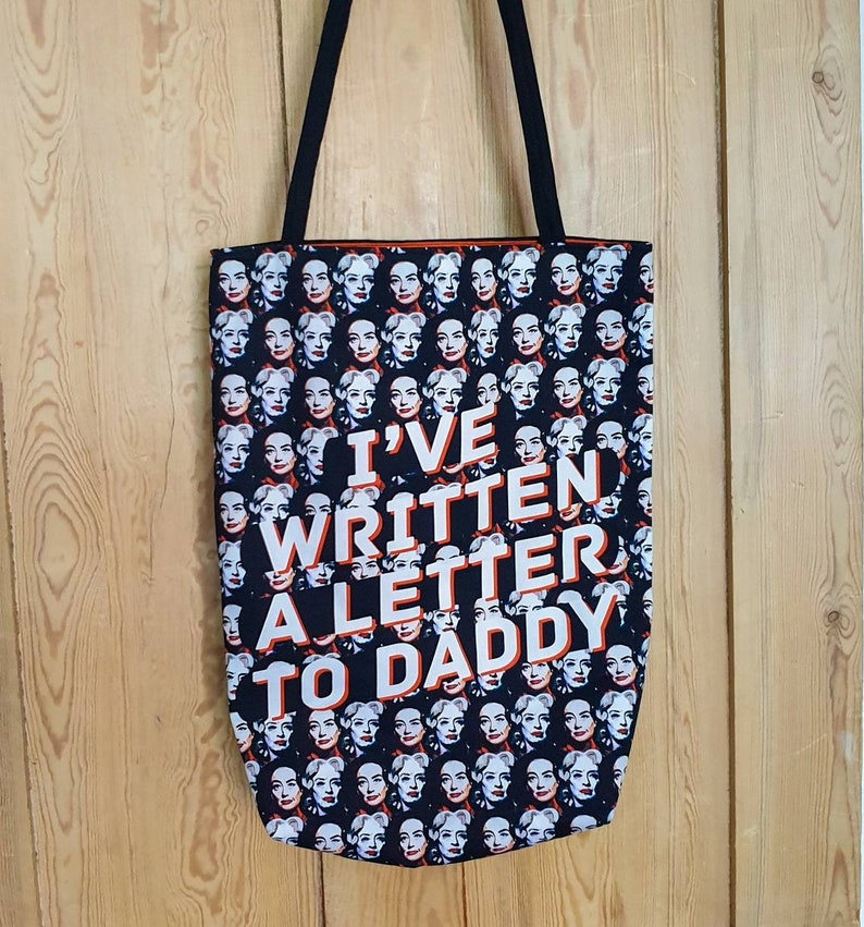 Whatever Happened to Baby Jane-inspired illustrated tote bag image 0