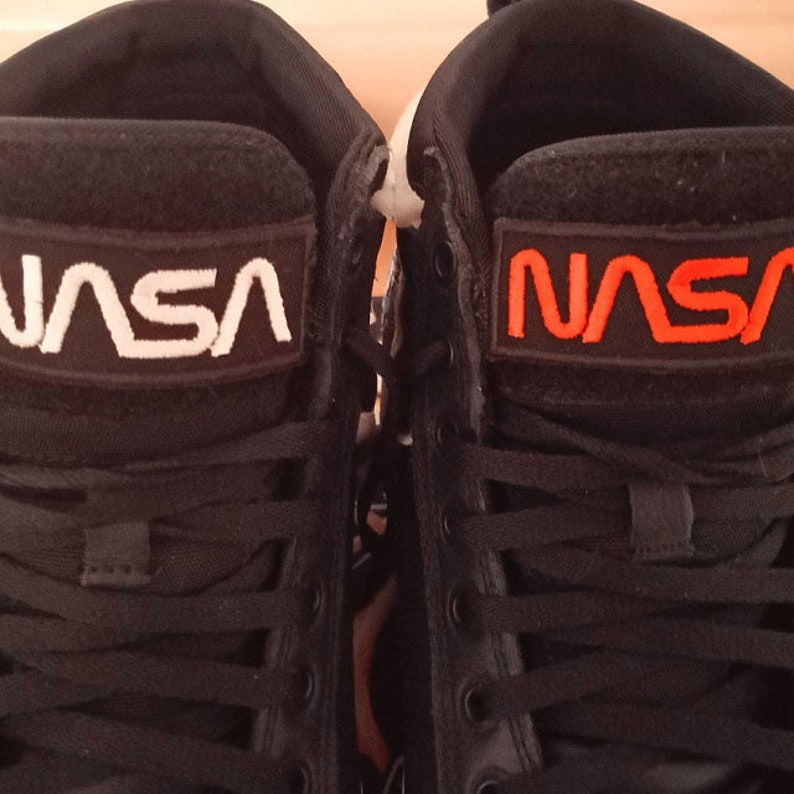 6ceded0a3f520 2 x embroidered Iron on / Sew on Nasa patches