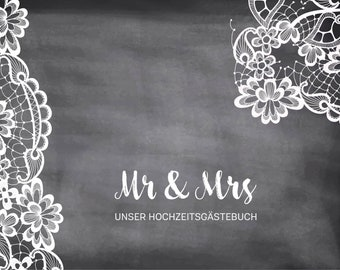 Guestbook * Lace *-pdf