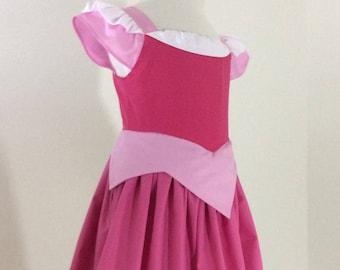 Aurora Dress with pink