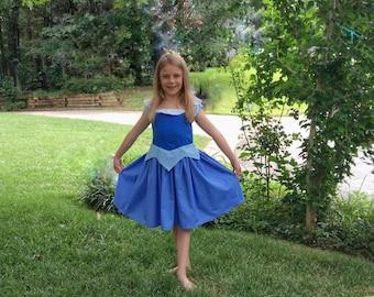 Blue Aurora Dress