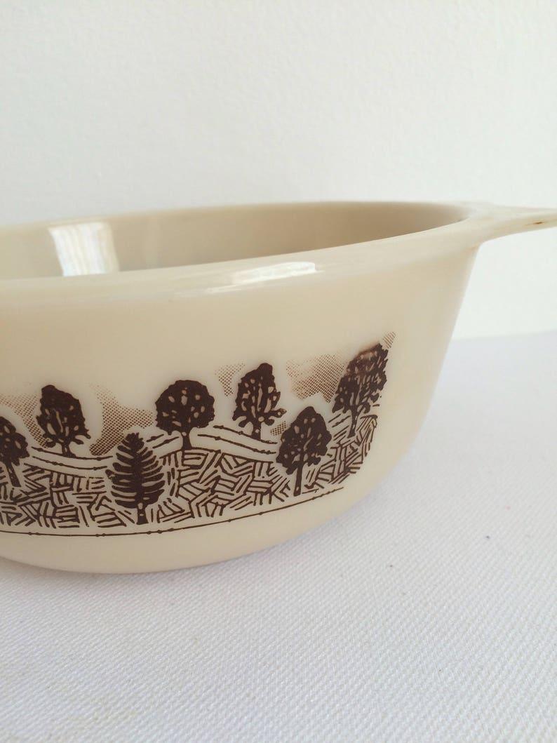 Vintage JAJ Pyrex Bowl Rare Milk glass dish