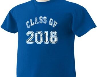 Class Of 2018 T-Shirt Graduation Gift