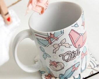 Pantsu Mug Coaster Set