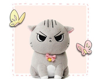 Angry Cat Plush