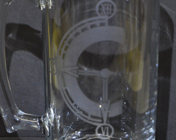 Chrono Trigger etched Mug glass