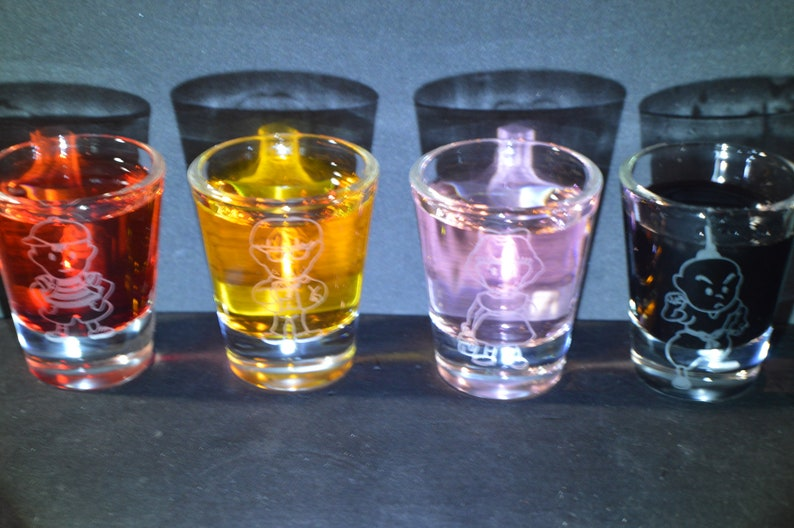 Earthbound shot glass set of 4 All 4 heros