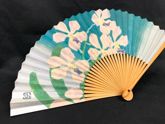 Japanese hand fan SENSU / Tea Ceremony / Geisha da