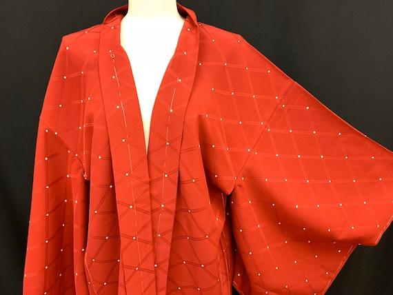 High Quality!! Japanese Silk Kimono Haori Jacket/