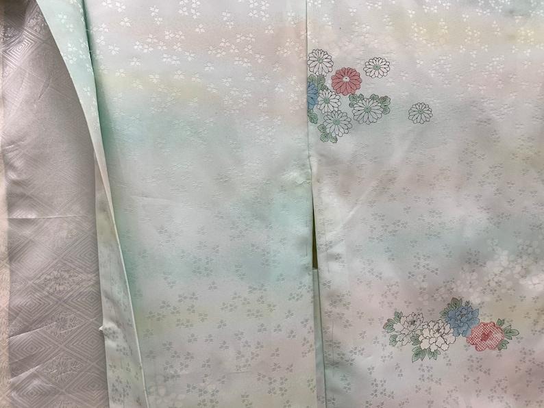 Japanese Kimono Haori  Silk Haori Jacket  Short Kimono Robe Kimono Jacket 022507