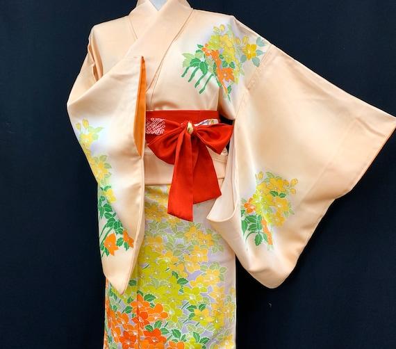 High Quality!! Japanese Kimono Robe / Silk Kimono