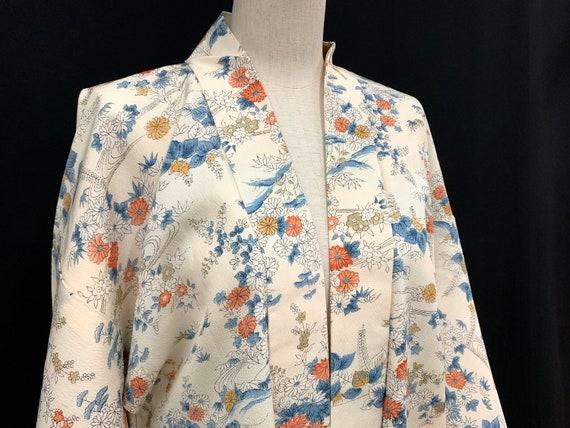 Japanese Kimono Haori / Silk Haori Jacket / CHIRIM