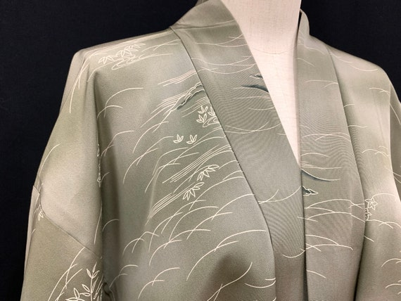 Japanese Antique Silk Kimono Haori Jacket/ Silk ki