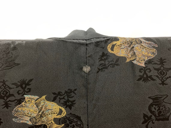 Japanese Silk Kimono Haori Jacket/ Unused Haori/ K