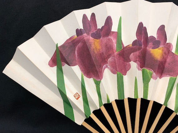 Japanese Vintage SENSU hand fan/ Tea Ceremony/ Gei