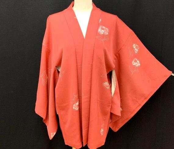 Japanese Kimono Haori / Silk Haori Jacket / Short