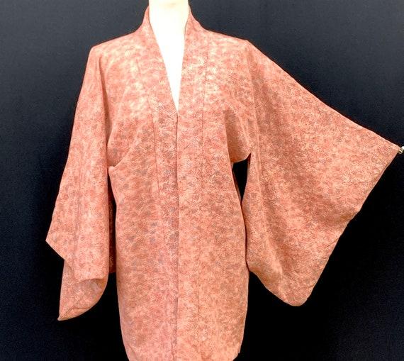 Japanese Vintage Silk Kimono Haori Jacket / Short