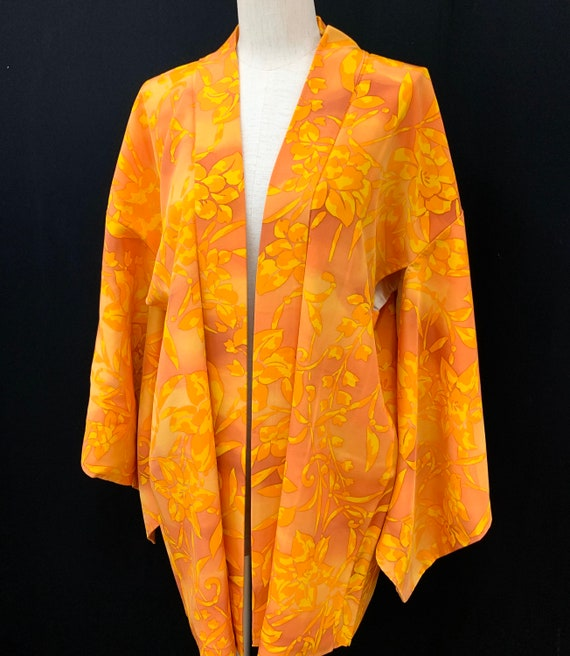 High Quality!! Japanese Kimono Haori / Unused/ Sil