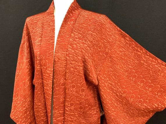 Japanese Silk Kimono Haori / Silk Haori Jacket / S