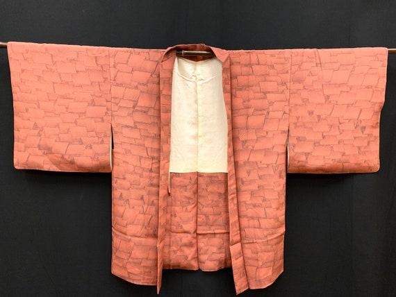 Japanese Kimono Haori / Silk Haori Jacket/ Short K