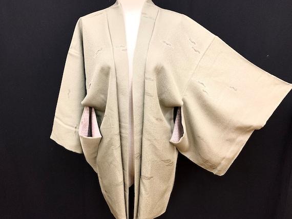 Japanese Kimono Haori / Unused/ Silk Haori Jacket
