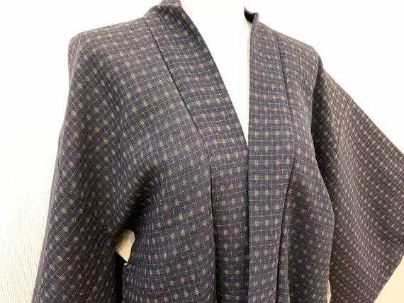 Japanese Kimono Haori / KASURI/ Silk Haori Jacket