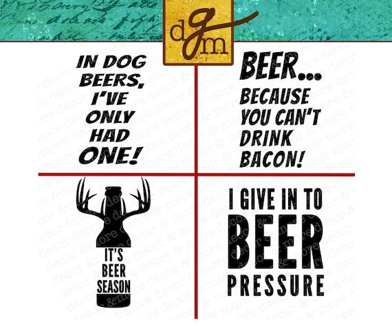 Beer SVG Bundle, Beer SVG Files for Cricut, Beer Mug Decals, Beer Mug  Stickers, Funny Christmas Gift for Him, Commercial Use SVG Files, Svg