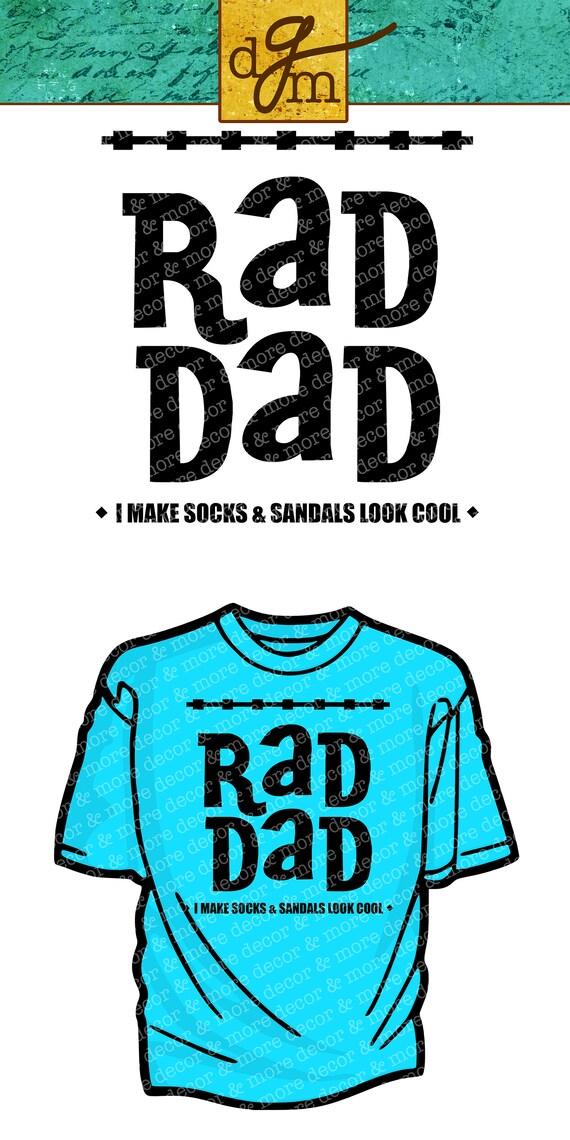 Rad Dad Svg Dad Svg File Father S Day Svg Funny Dad Etsy