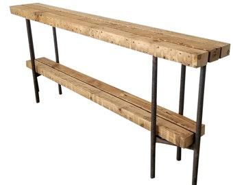 Super Narrow Sofa Table Etsy Beatyapartments Chair Design Images Beatyapartmentscom