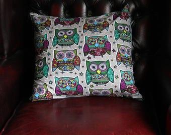 Hoot-Hoot Owl Cushion Cover