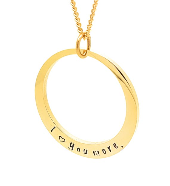Personalised Jewellery, Personalised Necklace, Family Necklace, Gold Circle Pendant & Necklace, Names Necklace,  Customized  Jewelry,