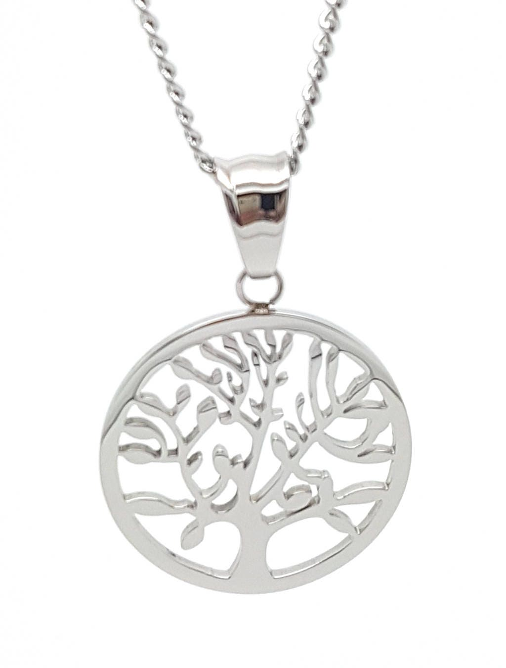 Silver Tree Of Life Pendant And Necklace The Tree Of Life