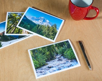 Scenic Note Cards of the pacific northwest