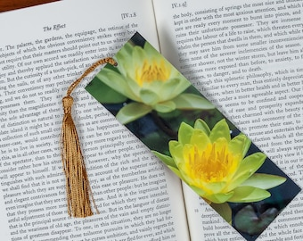 Laminated bookmark of Two Yellow Lilies