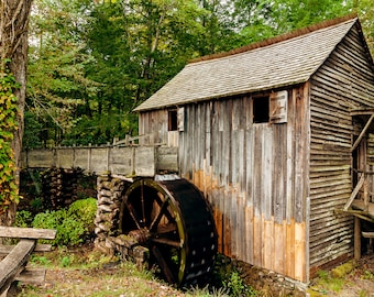 Cable Gristmill -- Prints, Matted and Mounted, Framed, Canvas, Metal