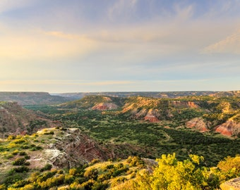 Palo Duro Canyon in the Texas Panhandle   -- Prints, Matted and Mounted, Framed, Canvas, Metal