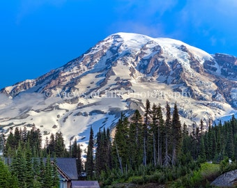 Mt Rainier, Washington - Mountain - Northwest   -- Prints, Matted and Mounted, Framed, Canvas, Metal