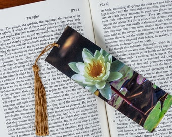Laminated bookmark of a Yellow Lily