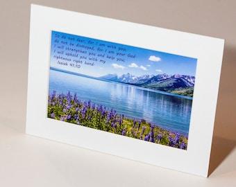 More Than a Card--Isaiah 41:10